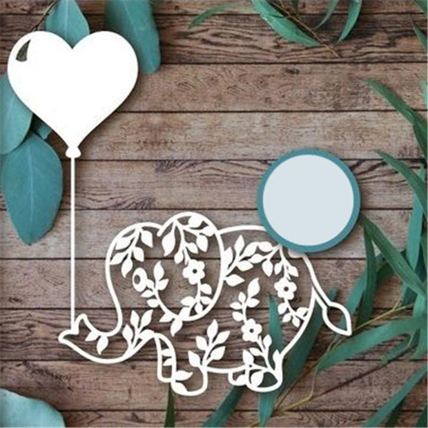 Elephant Balloon Metal Cutting Dies