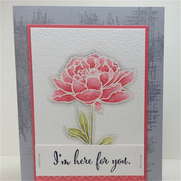 Flower Decorative Clear Stamps