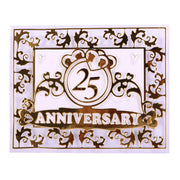 Anniversary Metal Cutting Dies