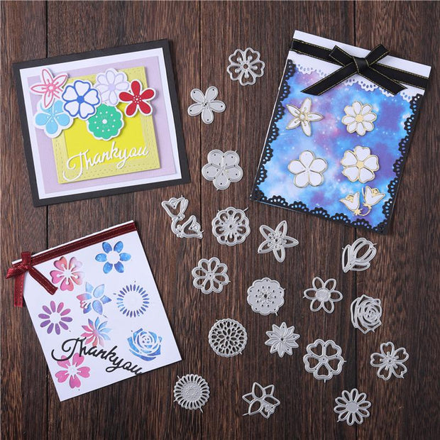 18 Size Flowers Metal Cutting Dies(Part 2)