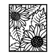 Blooming Sunflower Backdrop Cutting Dies