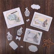 Cake Bow Frame Metal Cutting Dies