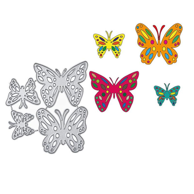 Butterfly Border Metal Cutting Dies