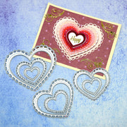 Heart Shape Frame Dies