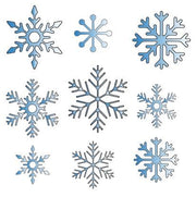 Various Small Snowflakes Decoration Dies Set