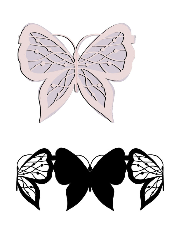 Splicing Pattern Butterfly Dies