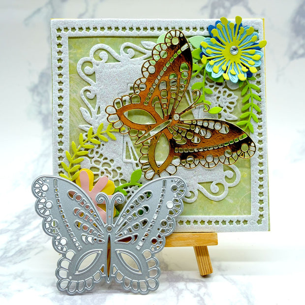 Kokorosa Pattern Butterfly Cutting Dies