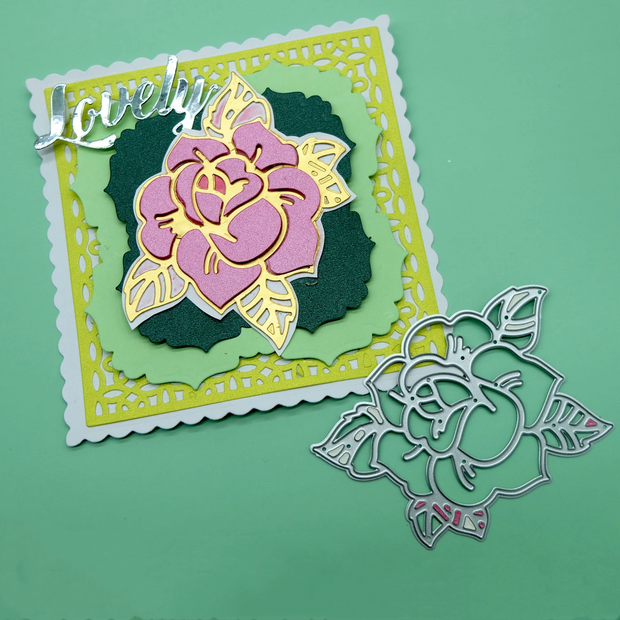 Blooming Rose Metal Cutting Dies