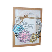 Beautiful Flowers Sentences Clear Stamps