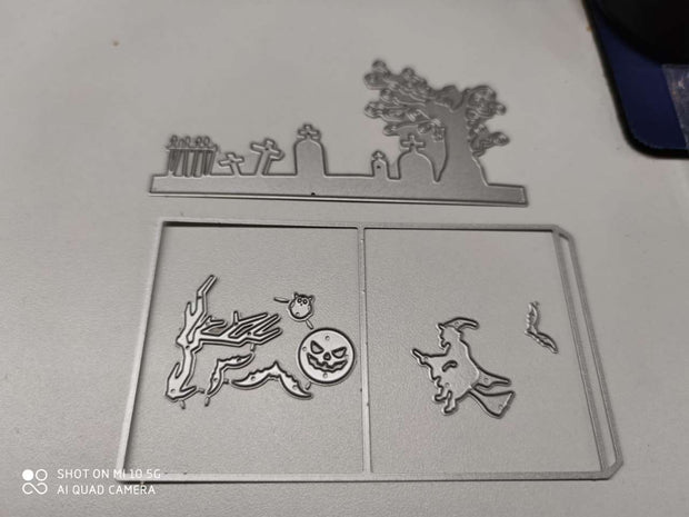 Halloween Set Metal Cutting Dies