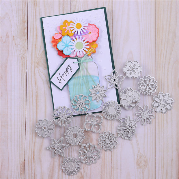 18 Size Flowers Metal Cutting Dies(Part 1)