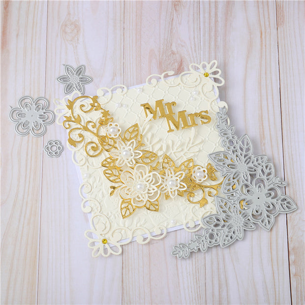 Flower Border Metal Cutting Dies