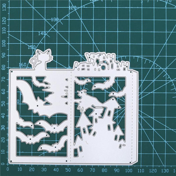 Halloween Letter Frame Metal Cutting Dies