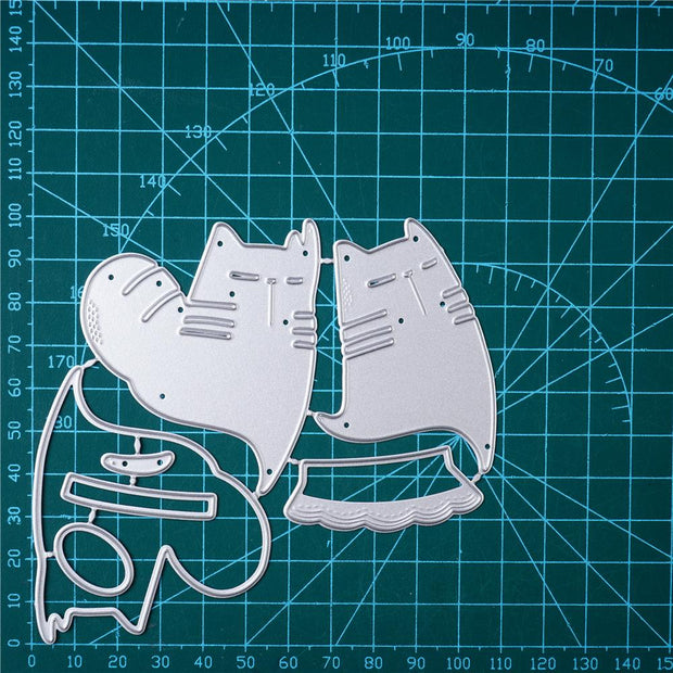 Dancing Cat Metal Cutting Dies