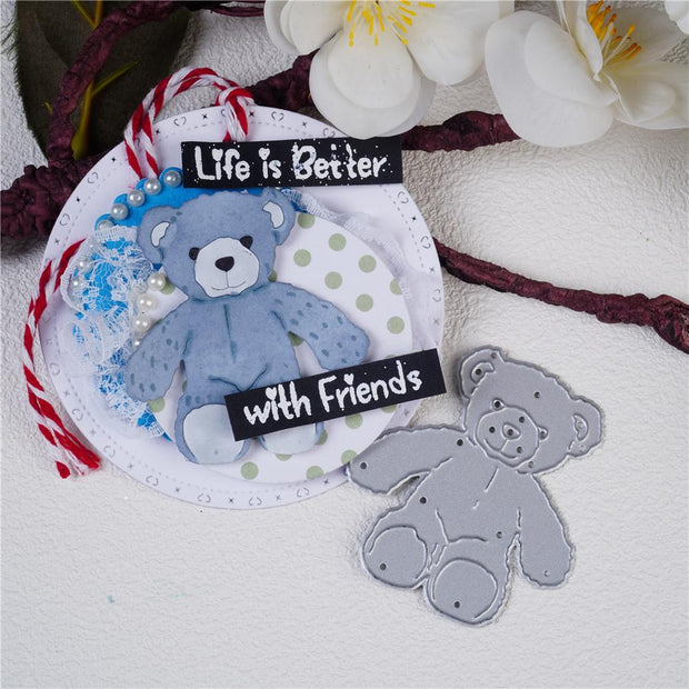 Teddy Bear Metal Cutting Dies