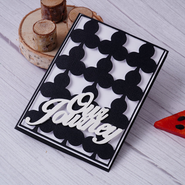 Playing Card Background Board (4 Choices) Metal Cutting Dies