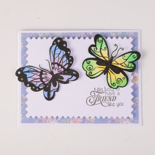 Beautiful Butterflies Cutting Dies