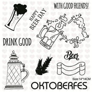 Inloveartstamp clear stamps / China Oktoberfest Clear Stamps