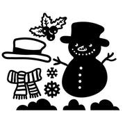 Winter Snowman Cutting Dies