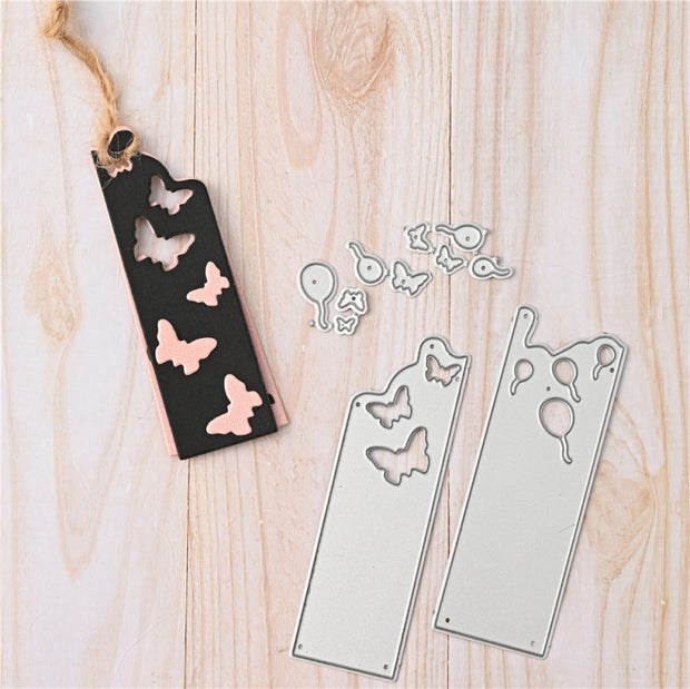 Butterfly Tag Cutting Dies