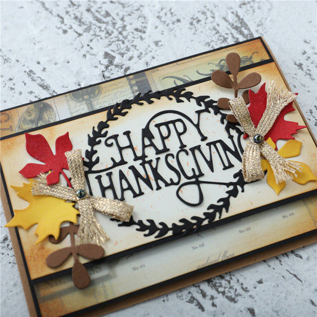 Happy Thanksgiving Cutting Dies