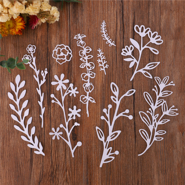 Plant Decoration Cutting Dies Collection