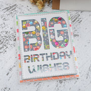 Big Birthday Wishes Cutting Dies