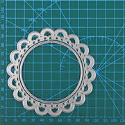 Circle Frame Cutting Dies Set