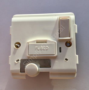 Legrand Fused connection unit w/ cord outlet