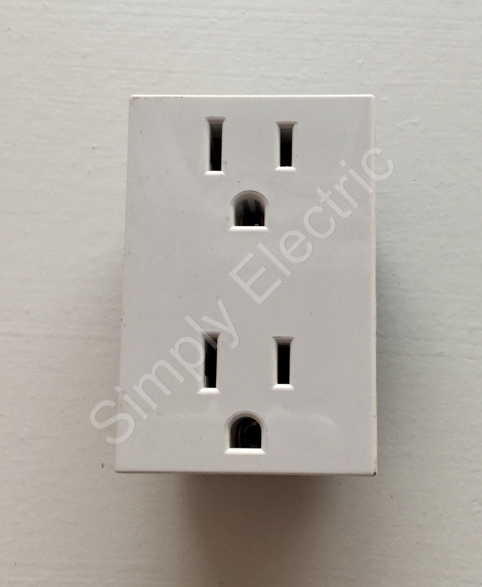 Legrand Double Us Socket Module 15a White 74179 From 270 Unit Wiring Accessories