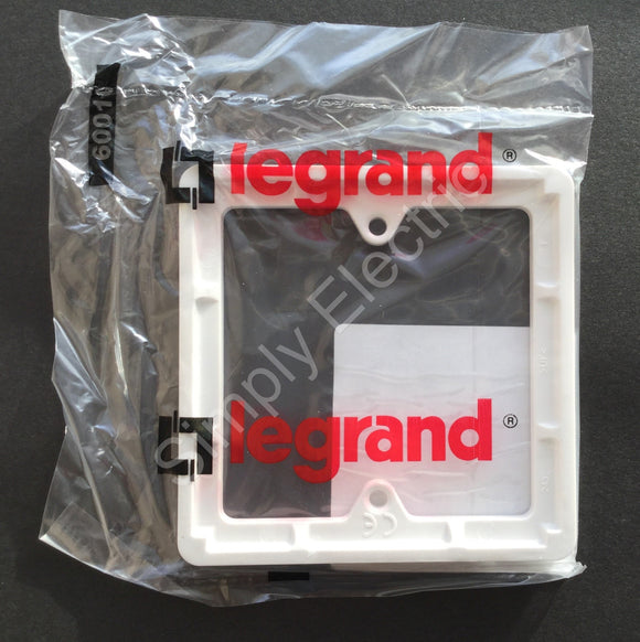 Job lot of Legrand 1 Gang 7mm Deep Accessory Frames - 730195 - From £0.60/unit
