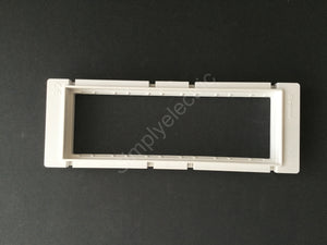 Job lot of Legrand Synergy 6 Mosaic Module Carriers for Yoke - 735486 - from £1.10/unit