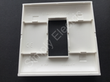 Legrand Mosaic Plate for 1 Gang BS Boxes - 75026 - from £2/unit