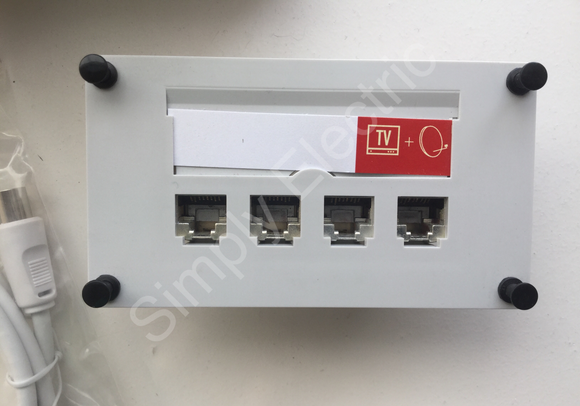 Legrand Block TV/SAT 6 stp 4 RJ45 BS Switch TV- 633993