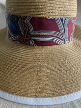 Load image into Gallery viewer, Hermès Scarf Sunhat (HAT712)