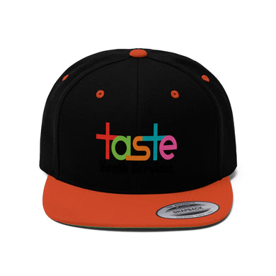 Taste Youth Services Unisex Flat Bill Snapback Hat