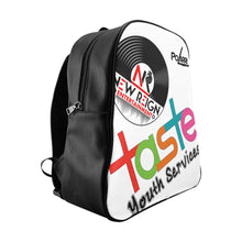 Load image into Gallery viewer, Taste Youth and Partners School Backpack