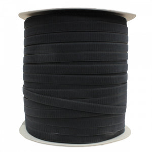 "Fastening Tape 1"" ( 25 mm ) Hook Black Sew On Jef Brand 1 Roll 500 Meters"