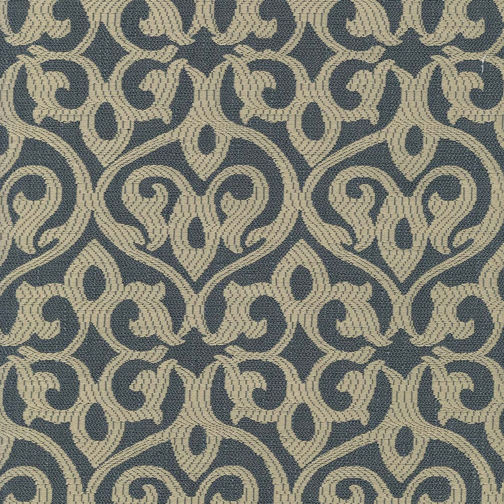 Falsetto Upholstery Fabric Medallion Woven Jacquard 5 Colors