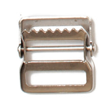 Load image into Gallery viewer, Webbing Buckles Steel Webbing Strap Buckles Nickle Plated 2 Sizes Pack of 25 Pieces