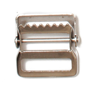 Webbing Buckles Steel Webbing Strap Buckles Nickle Plated 2 Sizes Pack of 25 Pieces