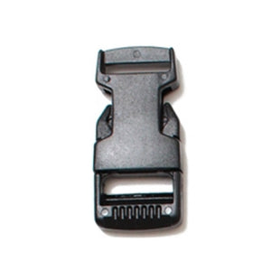 Webbing Buckles Side Release Buckles Delrin Black  Pack of 100 Pieces 4 Sizes