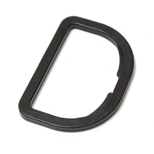 Webbing D-Rings Delrin Plastic Various Sizes and Styles Package of 100