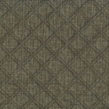 Load image into Gallery viewer, Imprint Upholstery Fabric Quilted Tweed Double Stitched Diamond Pattern Woven Jacquard 6 Colors