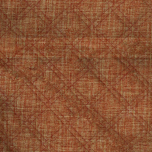 Imprint Upholstery Fabric Quilted Tweed Double Stitched Diamond Pattern Woven Jacquard 6 Colors