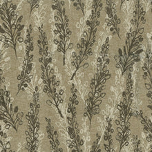 Load image into Gallery viewer, Nemo Upholstery Fabric Layered Fronds Design on Linen Background 4 Colors
