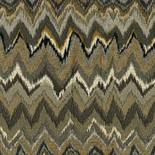 Load image into Gallery viewer, Captain Upholstery Fabric Flame Stitch Design Woven Jacquard 4 Colors