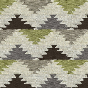 Ashleigh Upholstery Fabric Contemporary Fabric with Ikat Design Woven Jacquard 6 Colors