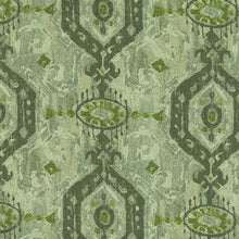 Load image into Gallery viewer, Adonis Upholstery Fabric Ethnic Medallion Distressed Effect Woven Jacquard 4 Colors