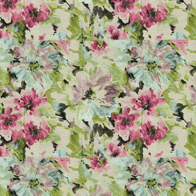Dodger Upholstery Fabric Floral Woven Jacquard 4 Colors